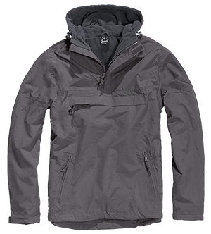 Pánská bunda BRANDIT WINDBREAKER Anthracite