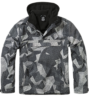 Pánská bunda BRANDIT WINDBREAKER Nightcamo Digital