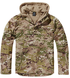 Pánská bunda BRANDIT WINDBREAKER Tactical Camo